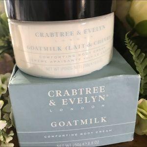 Crabtree & Evelyn Goat Milk Comforting Body Cream